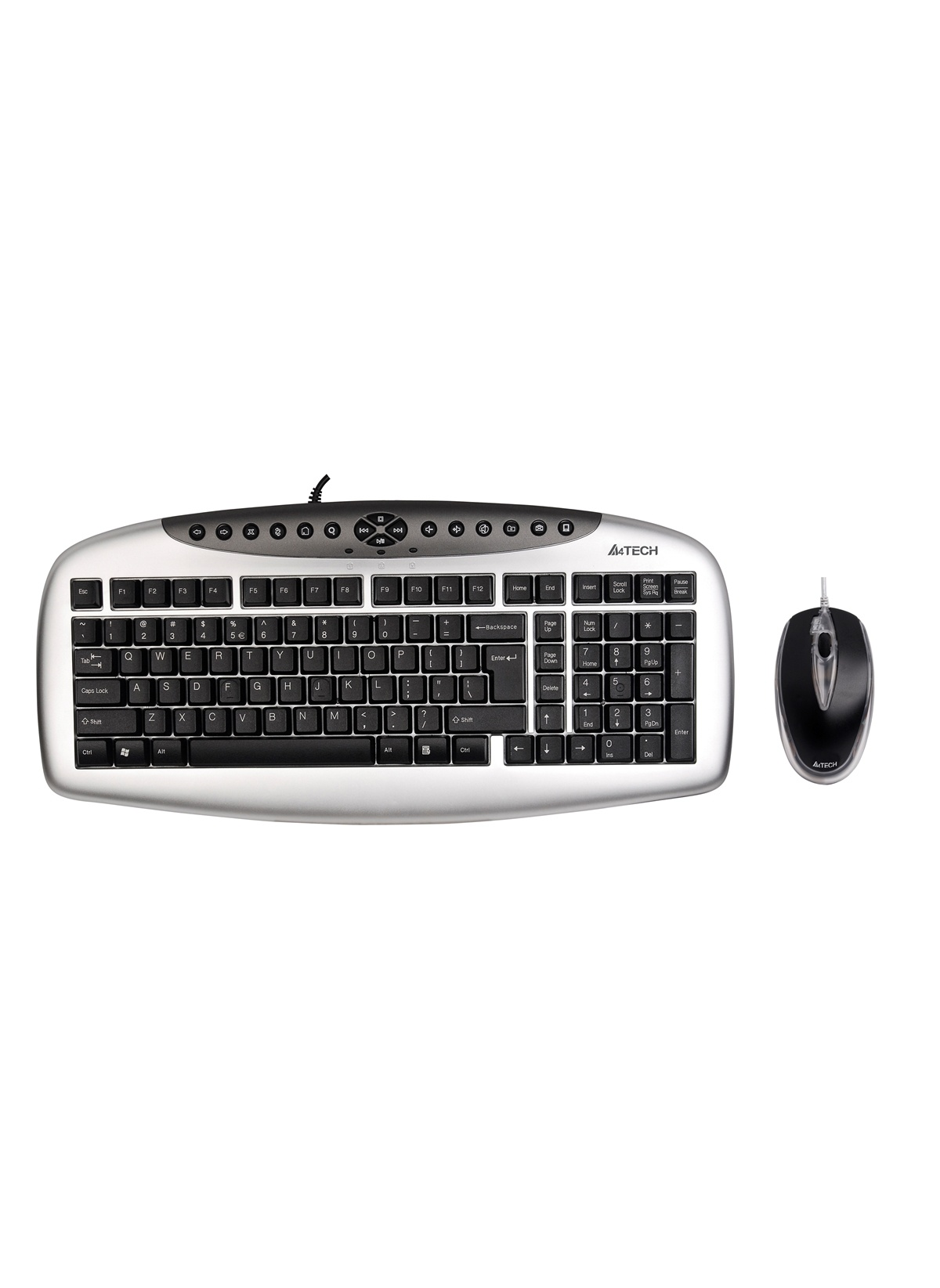 Standart A4 TECH Kb-2103D Q Ps Mm Klavye+2X Optik Mouse